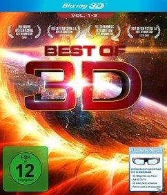 Best of 3D - Vol. 1-3 (Blu-ray 3D)