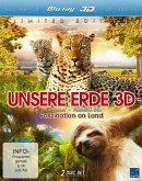 Unsere Erde 3D - Faszination an Land (Blu-ray 3D-2D, 2 Discs)