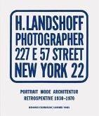 Hermann Landshoff. Portrait Mode Architektur