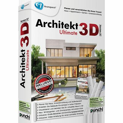 architekt 3d x7 ultimate download f r windows. Black Bedroom Furniture Sets. Home Design Ideas