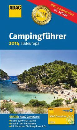 adac campingf hrer 2014 s deuropa buch. Black Bedroom Furniture Sets. Home Design Ideas
