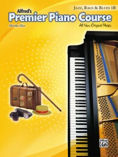Premier Piano Course: Jazz, Rags & Blues Book 1B - Mier, Martha