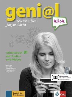 geni@l klick B1. Arbeitsbuch mit 2 Audio-CDs - Fleer, Sarah;Keller, Susy;Mariotta, Maruska