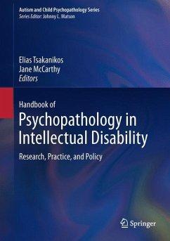 Handbook of Psychopathology in Intellectual Disability