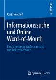 Informationssuche und Online Word-of-Mouth (eBook, PDF)
