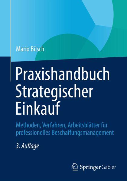 praxishandbuch strategischer einkauf ebook