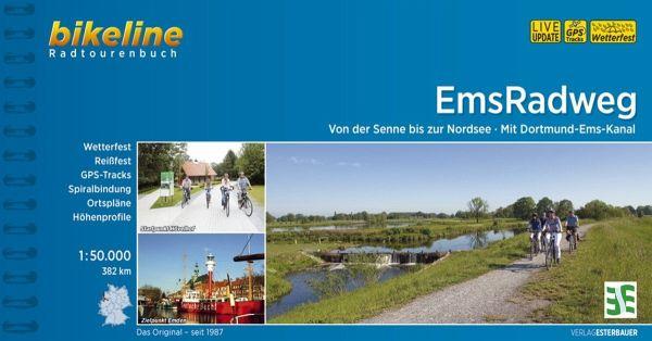 Bikeline Radtourenbuch Ems-Radweg