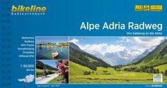 Bikeline Radtourenbuch Alpe Adria Radweg