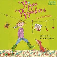 Pippa Pepperkorn neu in der Klasse / Pippa Pepperkorn Bd.1 (1 Audio-CD) - Habersack, Charlotte
