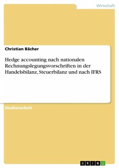 Hedge accounting nach HGB, EStG und IFRS (eBook, ePUB)
