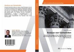 Analyse von Gemeinden - Schweizer, Eduard