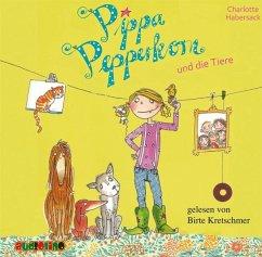 Pippa Pepperkorn und die Tiere / Pippa Pepperkorn Bd.2 (1 Audio-CD) - Habersack, Charlotte