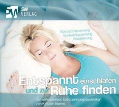 Entspannt einschlafen und zur Ruhe finden, Audio-CD - Harms, Kirsten