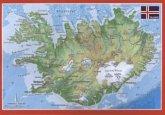 Island, Reliefpostkarte
