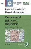 Alpenvereinskarte Kleinwalsertal, Hoher Ifen