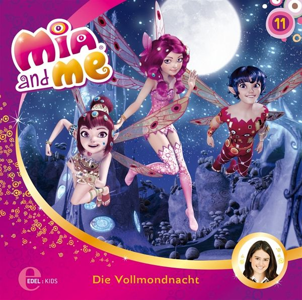die vollmondnacht mia and me 1 audio cd. Black Bedroom Furniture Sets. Home Design Ideas