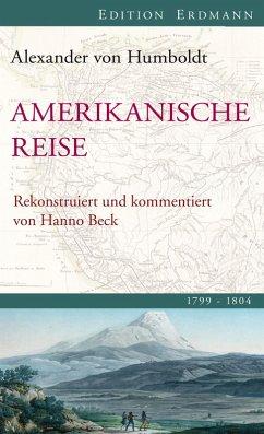 Amerikanische Reise 1799-1804 (eBook, ePUB) - Humboldt, Alexander Von