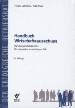 Handbuch Wirtschaftsausschuss - Laßmann, Nikolai; Rupp, Rudi