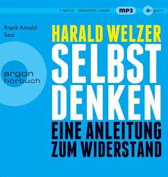 Selbst denken, 2 MP3-CDs - Welzer, Harald