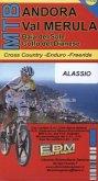 ESDM MTB Andora, Val Merula, Mountainbike-Karte