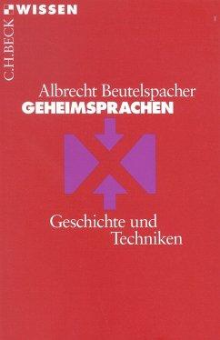 Geheimsprachen (eBook, ePUB) - Beutelspacher, Albrecht
