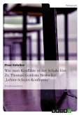 Zu: Thomas Gordon - Lehrer-Schüler-Konferenz (eBook, ePUB)