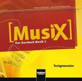 MusiX 2. Testgenerator (CD-ROM und Audio-CD)
