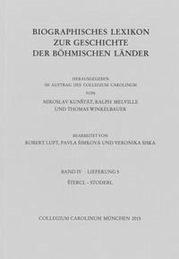 Biographisches Lexikon zur Geschichte der böhmischen Länder. Band IV, Lieferung 5.