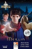 The Adventures of Merlin, mit 1 Audio-CD. Level 2 (A1/A2)