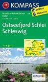 Kompass Karte Ostseefjord Schlei, Schleswig
