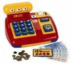 Theo Klein 9300 - Mechanische Registrierkasse, Kasse für Kaufladen