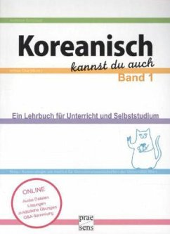 Koreanisch kannst du auch 1 - Schirmer, Andreas