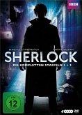 Sherlock - Die kompletten Staffeln 1 + 2 (4 Discs)