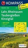 Kompass Karte Lahr, Rheinauen, Taubergießen, Kinzigtal