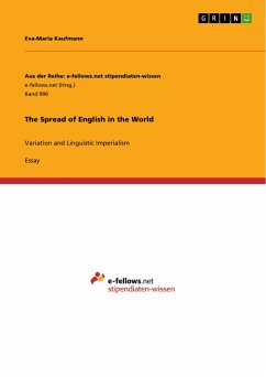 The Spread of English in the World - Kaufmann, Eva-Maria