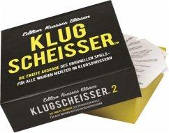 Pegasus KYL43011 - Klugscheisser Black Edition, Kartenspiel