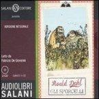 Gli sporcelli letto da Fabrizio De Giovanni. Audiolibro. 2 CD Audio