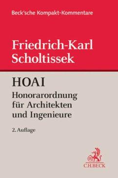 HOAI - Kommentar - Scholtissek, Friedrich-Karl