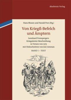 Von Kriegß-Befelch und Ämptern 2 Bände