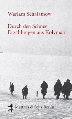 Durch den Schnee (eBook, ePUB) - Schalamow, Warlam