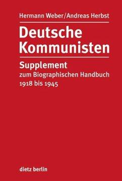 Deutsche Kommunisten - Weber, Hermann; Herbst, Andreas