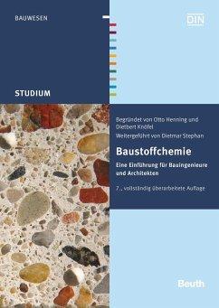 Baustoffchemie - Henning, Otto;Knöfel, Dietbert;Stephan, Dietmar