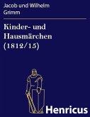 Kinder- und Hausmärchen (1812/15) (eBook, ePUB)