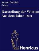 Darstellung der Wissenschaftslehre Aus dem Jahre 1801 (eBook, ePUB)
