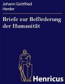 Briefe zur Beförderung der Humanität (eBook, ePUB)