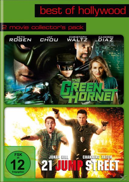 Best of Hollywood - 2 Movie Collector's Pack: The Green Hornet / 21 Jump Street (2 Discs)