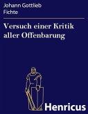 Versuch einer Kritik aller Offenbarung (eBook, ePUB)