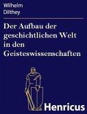 Der Aufbau der geschichtlichen Welt in den Geisteswissenschaften (eBook, ePUB)