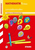 Lernzielkontrollen/Tests - Grundschule Mathematik 1. Klasse