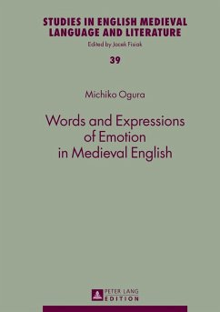 Words and Expressions of Emotion in Medieval English - Ogura, Michiko